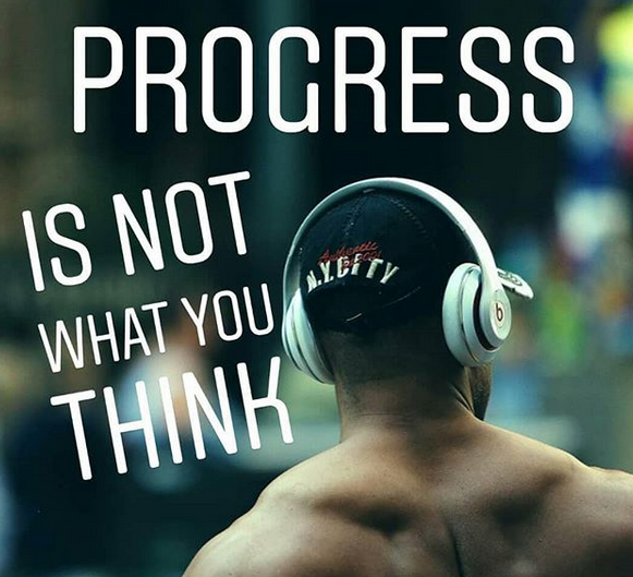 Progress doesn't work how you think…